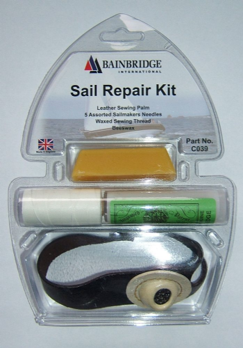 New Marine Sail repair kit including palm,needles,thread & beeswax Sailing gift
